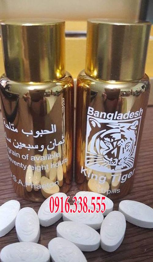 Thảo dược Tiger king 700 mg Bangladesh (Vua Hổ Trắng)