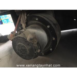 Bánh lái xe nâng điện Stacker PU 250x80, 10 lỗ ốc