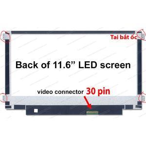 thay màn hình laptop lenovo ideapad 100S 11IBY 11.6 inch