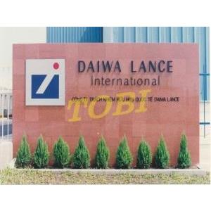 Thi công bảng tên Công ty DAIWA LANCE INTERNATIONAL