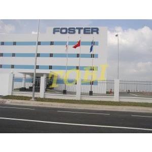 Thi công bảng tên Công ty FOSTER FACTORY