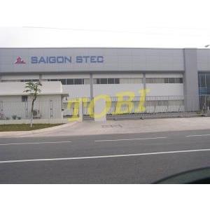 Thi công bảng tên Công ty SAIGON STEC