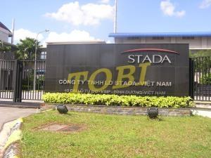 Thi công bảng tên Công ty STADA