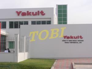 Thi công bảng tên Công ty YAKULT