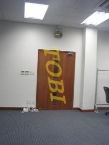 Thi Công Cửa Văn Phòng OMRON