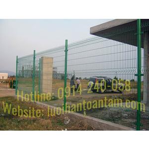 Thi công hàng rào lưới thép nhà xưởng