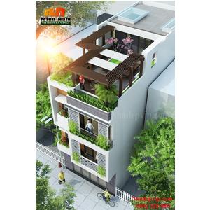 Thi công nhà phố hiện đại Anh Đạt Phú Quốc