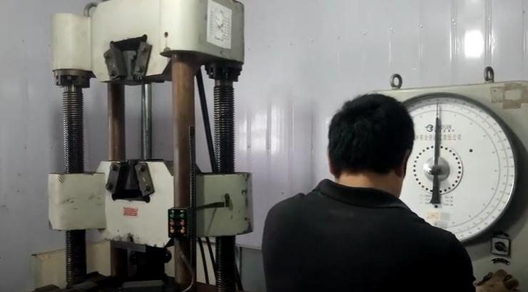 thí nghiệm kéo thép