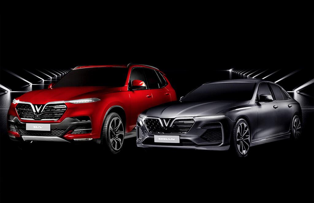 Hai mẫu xe sắp ra mắt của VinFast.