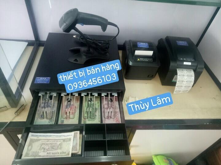 Bộ thiết bị bán hàng cho Minimart, tạp hóa, cửa hàng bán lẻ