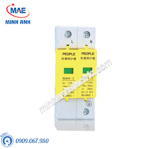 Thiết bị chống sét lan truyền RDS6P-AC 1P +N