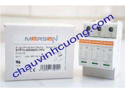 Thiết bị chống sét solar 550VDC Mersen 40kA STPT2-40K600V-YPV