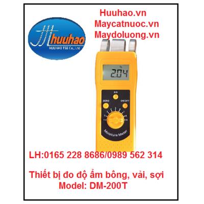 Thiết bị đo độ ẩm bông, vải, sợi DM200T