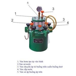 Thiết bị đo hàm lượng bọt khí bê tông