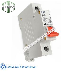 Thiết bị đóng cắt MCB 1P 10A 6kA - BKN1P/10A - LS
