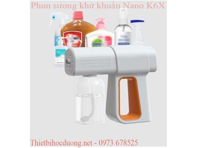 Thiết bị phun nước sát khuẩn đa năng K6X