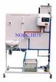 Mô hình dàn trải bình nước nóng chạy bằng điện