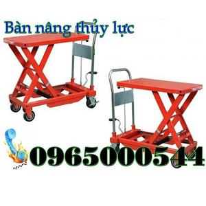Thiết kế bàn nâng thủy lực 500 kg nhập khẩu