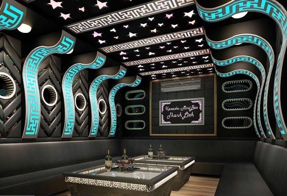 Thiết kế thi công phòng hát karaoke hiện đại tại Quận 4, Tp HCM