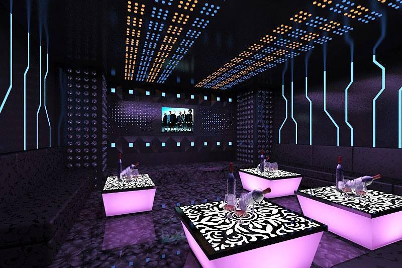 Thiết kế thi công phòng hát karaoke VIP Led Full tại Sơn La