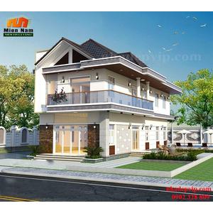 Thiết kế thi công biệt thự đẹp nhất nhà Chị Lam Hồng Thủ Đức