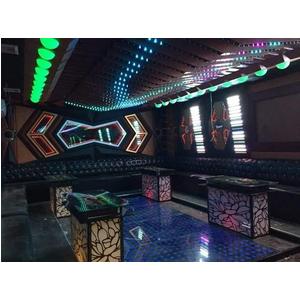 Thiết kế thi công phòng hát karaoke VIP Led Full tại Bắc Giang