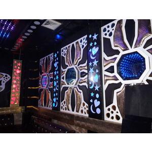 Thiết kế thi công phòng hát karaoke VIP Led Full tại Hà Giang