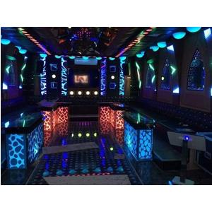 Thiết kế thi công phòng hát karaoke VIP Led Full tại Nam Định