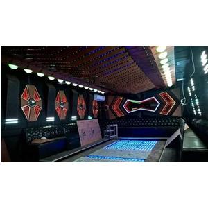 Thiết kế thi công phòng hát karaoke VIP Led Full tại Yên Bái