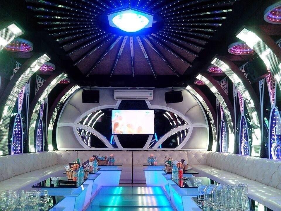 Thiết kế thi công phòng hát karaoke VIP, Led Full tại Thái Nguyên