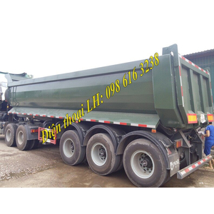 Thông số KT mooc ben YUNLI 26 khối, tải trọng 30.035 kg, mooc ben YUNLI nhập khẩu từ Trung Quốc