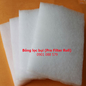Thông số kỹ thuật bông lọc bụi (Pre Filter Roll)