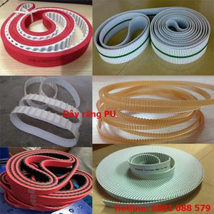 Thông số kỹ thuật dây răng PU lõi thép T5 T10 T20 AT5 AT10 AT20 L H XH XL 5M 8M 14M RPP8 RPP5