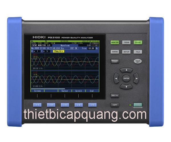 Thông số kỹ thuật máy đo lượng điện năng Hioki PQ3100