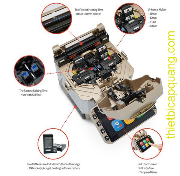 Thông số kỹ thuật máy hàn quang Mini 6S