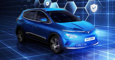 Thông số kỹ thuật ô tô điện VinFast VF e34 chi tiết nhất