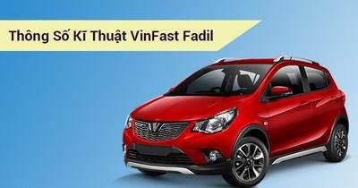 Thông số kỹ thuật VinFast Fadil