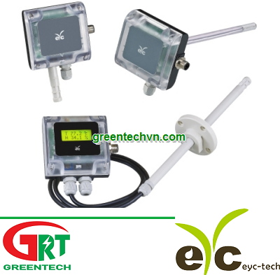 EYC THS80X series Industry degree Temperature & Humidity Transmitter (indoor/duct/remote)