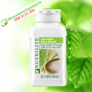 Thực phẩm bổ sung chất xơ từ rau quả Nutrilite(30 viên nhai 1hộp)