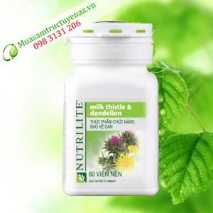 Thực phẩm chức năng bảo vệ gan Nutrilite Milk Thistle & Dandelion