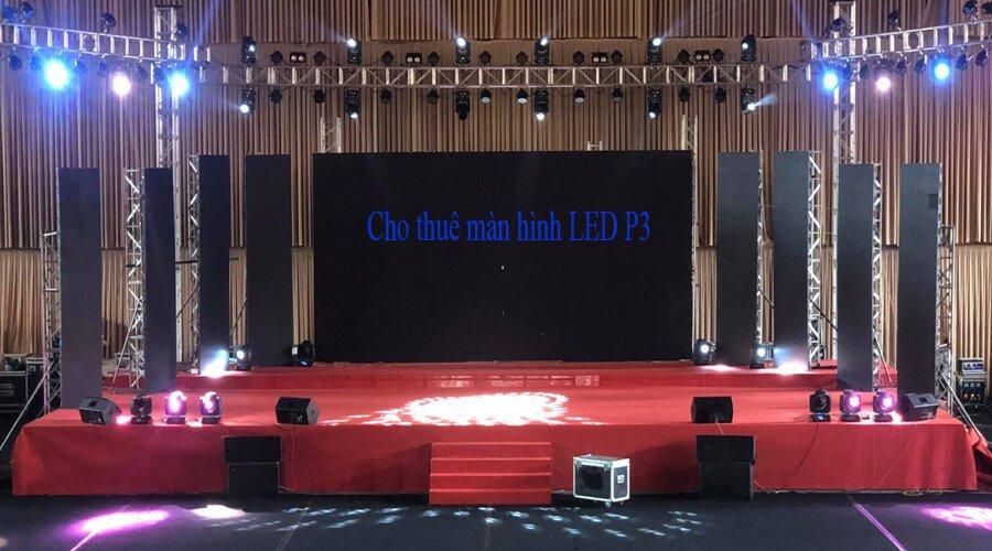 Thuê màn hình Led P3 ở sài gòn