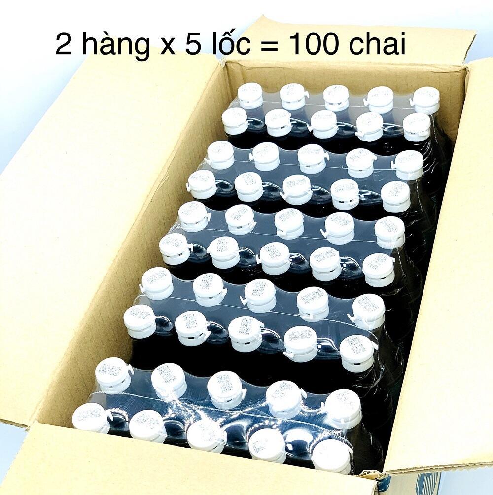 Nước Mắm Hạnh phúc 60 độ đạm chai 50ml Lốc 10 chai