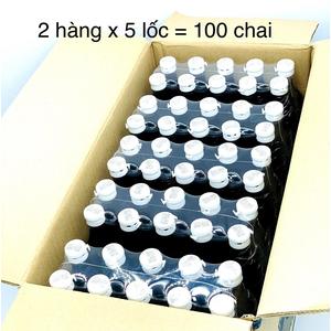Thùng Nước Mắm Hạnh Phúc 60 độ đạm lốc 10 chai( Thùng 10 Lốc)