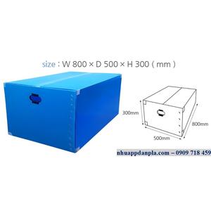 Thùng carton nhựa 11