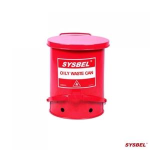 Thùng chứa rác thải dầu Oily Waste Can 6 Gallon/ 22.6 lít, màu đỏ cho dung môi dễ cháy WA8109100