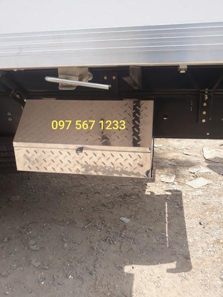 thùng đựng đồ nghề inox xe tải