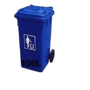 Thùng đựng rác 100L