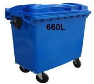 Thùng đựng rác công nghiệp 660L