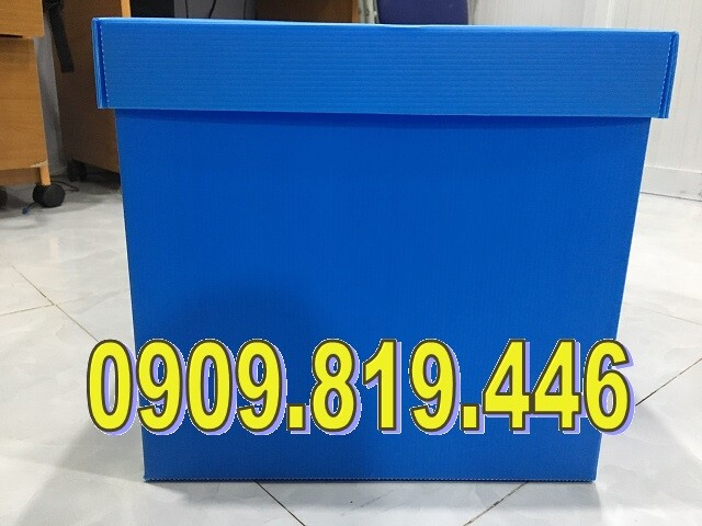Thùng nhựa A4 - Có KT : 330 x 230 x 310 mm