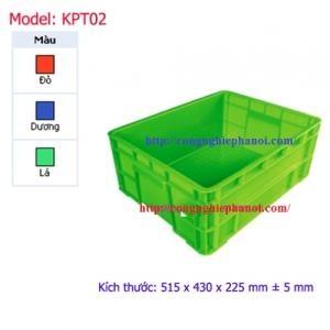 Thùng nhựa đặc KPT02